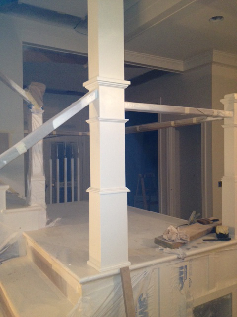 mainFloor Staircase-unfinished
