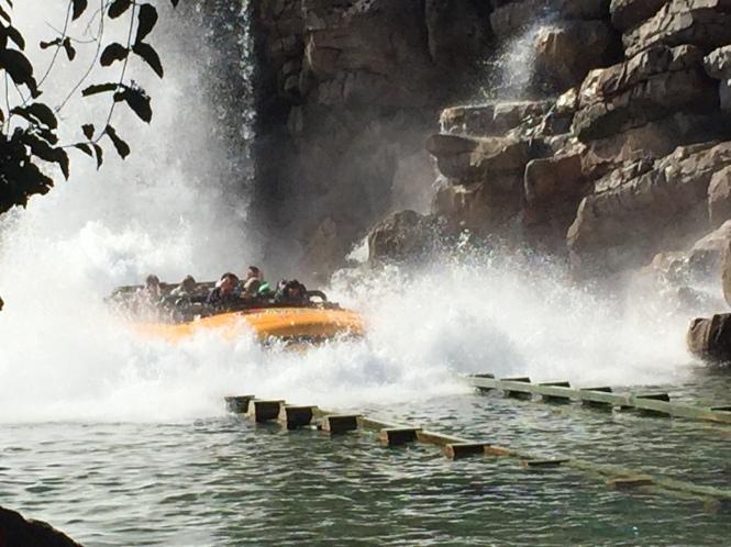 Universal Studios- Jurassic Park ride